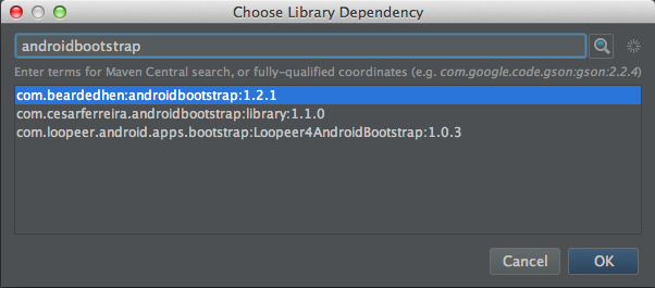 AndroidBootStrapの使い方3