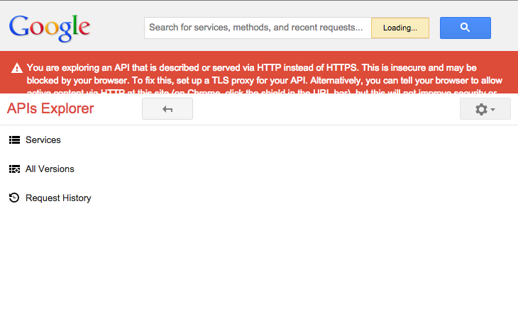Google App Engine backend error