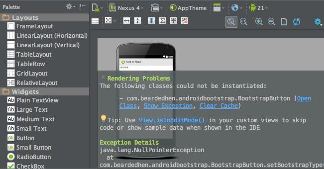 AndroidBootStrap API21